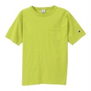 Champion / チャンピオン | T1011 USA T-Shirt with pocket / ライムグリーン
