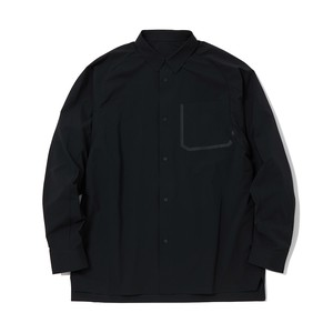 TECH SHIRT -BLACK
