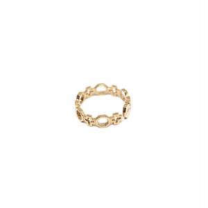 CONTEMPORARY FEDINA RING GOLD 〜ジオメトリックな世界に魅了されるバロック教会〜