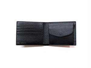 2つ折り財布 BLACK