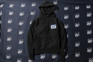 HELLO CHAMPION HOODY (BLK)