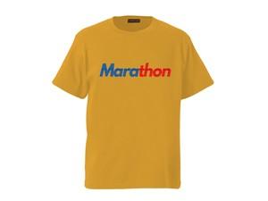 T-SHIRT M319106-YELLOW / Tシャツ イエロー YELLOW / MARATHON JACKSON マラソン ジャクソン