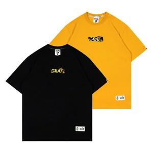 【GRAF】ロゴ&ミツバチ刺繍入りTシャツ
