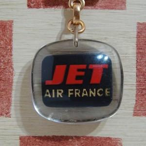 フランス AIR FRANCE[エールフランス]航空会社 広告ノベルティ ブルボンキーホルダー