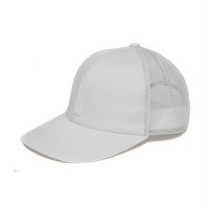 FULL BK SILICON TAG MESH CAP (WHITE)