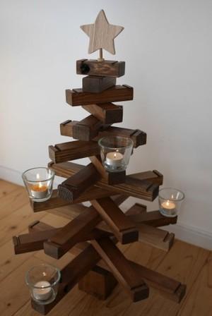 【2019年12月までのお届け】Wood Tree(木製クリスマスツリー)送料込み