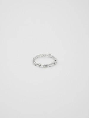 stoneline tsuburing silver(再入荷)
