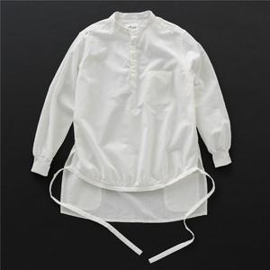 エンゲイシャツ 白×白