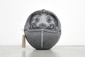 【アート作品】AOI Shimizu|デニムクラフト ダルマ8号 Sタイプ 髭有り(新品)