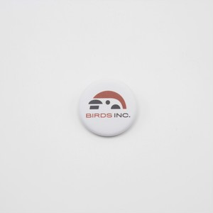 缶バッチ 株式会社とりロゴ(英語) 73-bdg-21