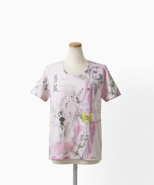 QXQX Tシャツ ユニコーン