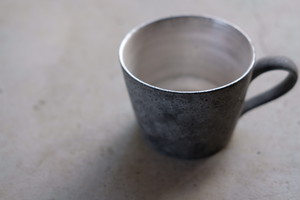 大森健司/黒土のマグカップ