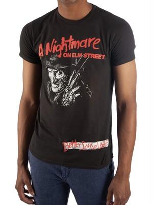 エルム街の悪夢 フレディ グラフィック Tシャツ