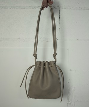 RETHINK LEATHER BAG (BEIGE)