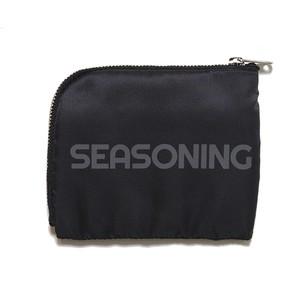 シーズニング シーズニング × ポーター ウォレット SEASONING×PORTER WALLET BLACK  SE18S-PAC03-BLACK SEASONING