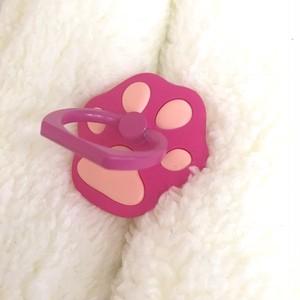 肉球バンカーリング ピンク