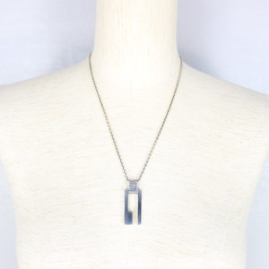 GUCCI SILVER CHAIN NECKLACE MADE IN ITALY/グッチシルバーネックレス