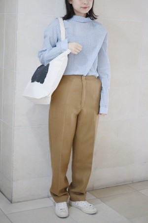 "A .Dupré""High waist trousers""[Beige]"