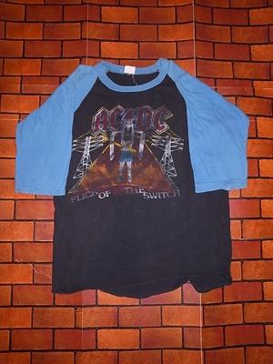 AC/DC 1983-1984 TOUR T-SHIRTS