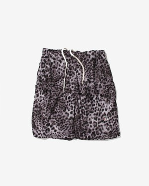 LEOPARAD RELAX SHORTS / SILVER