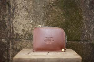 """※受注生産※ easy wallet """"001 Brown"""""""