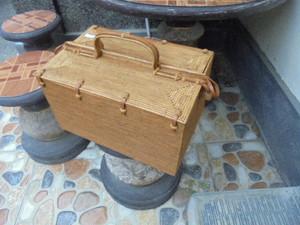 アタ細工(特別の編み目) 茶籠