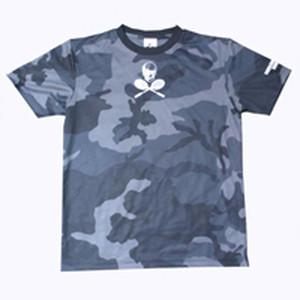 TUTCカモフラージュゲームシャツ ブラック GS-002