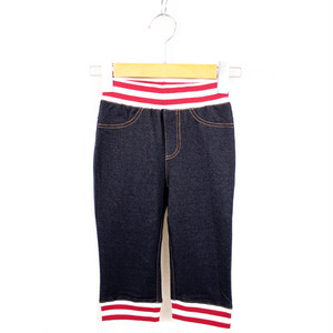 Knit denim pants(KME-000-166017)