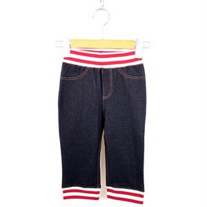 MEI KIDS Knit denim pants(メイ キッズ デニムパンツ) KME-000-166017
