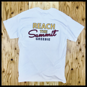 【20%OFF】REACH THE SUMMIT Pocket Tee【WHITE】