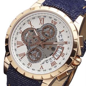 サルバトーレマーラ クロノ クオーツ メンズ 腕時計 SM13119D-PGWHBL ホワイト ホワイト