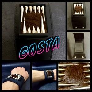 GOSTA レザーベアキラーブレスレット