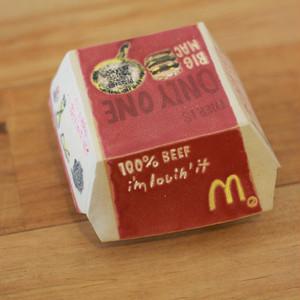 マクドナルド ビックマックの箱 (陶器)
