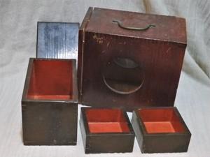 戦前 古民具 硯箱 小物入れのような小さなサイズ  年代物です