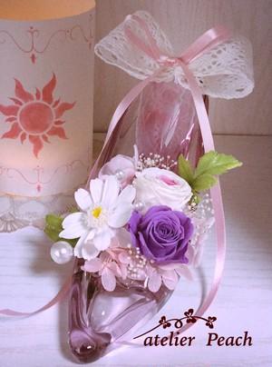 プリンセスの靴 『ラプンツェル』  ❤︎リングピローにも❤︎
