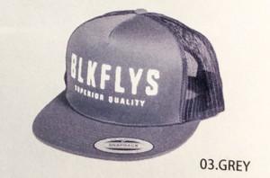 BlackFlys【AGED TRUCKER CAP】