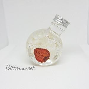 ハーバリウムボトル《イチゴ》100ml