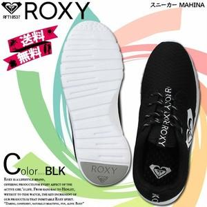 RFT18537 ロキシー スニーカー レディース 旅行 プレゼント シューズ 黒 かわいい おしゃれ フィットネス ヨガ 黒 人気ブランド ROXY