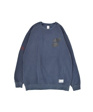 The Number Garment-die Crew / DENIM