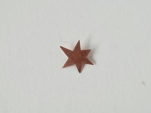 いちばん星のブローチ(銅)