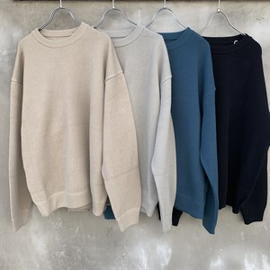 "crepuscule  ""moss stitch L/S sweat"""