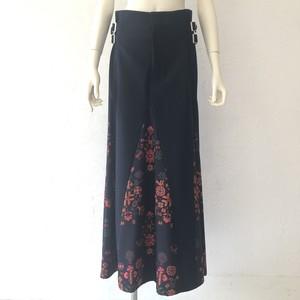 75.mix maxi skirt