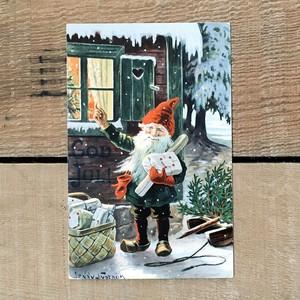 クリスマスカード「Jenny Nyström(イェニー・ニィストルム)」《200222-08》