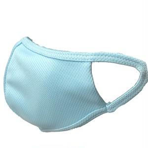 【子供用10枚セット】洗える抗菌作用三重層 ドクター バリアラボ マスク(ブルー)
