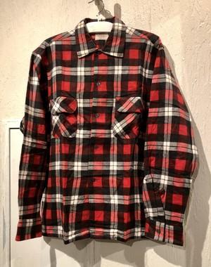 60's Deadstock Print Flannel Shirt