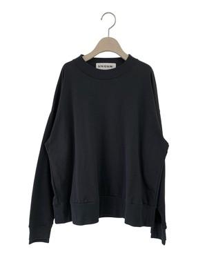 【予約】UNIONINI reflect logo long sleeved tee  4-6/6-8/8-10/10-12 (black)