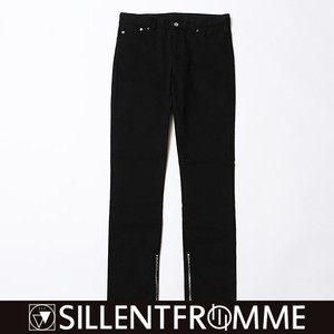 EBONY -Side Zip Skinny-