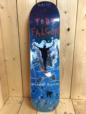 FANCY LAD SKATEBOARDS FALCON LEGENDS 8.0