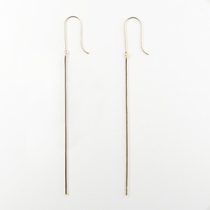 Legato straight pierce(gold)