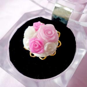 シュガーローズリング(pink-a)